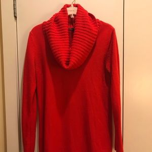H&M cowl neck tunic sweater